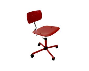 Adjustable Danish Modern Kevi Desk Task Swivel Chair