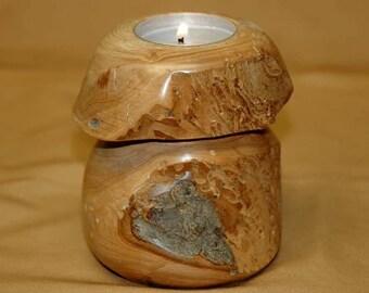 Mushroom PEAR candle holder