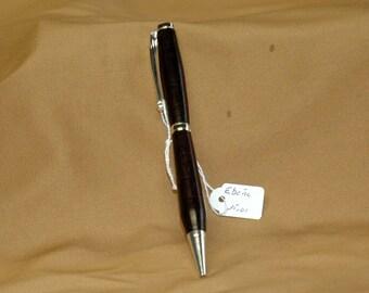 Pen in ebony
