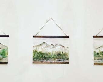 mountain hanging piece