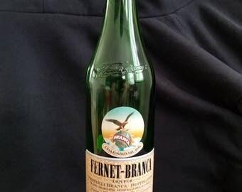 Fernet-Branca liquor bottle lamp