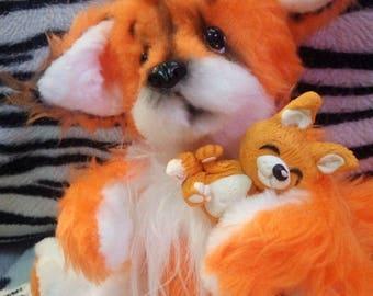 Fox in Teddy's technique
