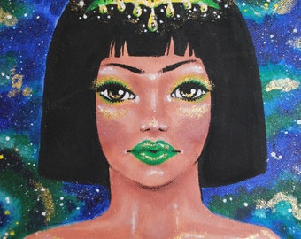 CRYSTALPATRA - painting - Acrylic paint on canvas - Handmade art - Acrylics