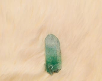Green Crystal Quartz Point