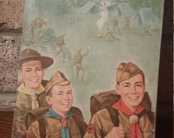 1970's Boy Scout Handbook Manual Scouts of America
