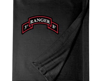 3/75th Ranger Battalion Embroidered Blanket-3318