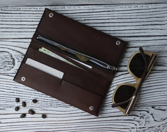 Handcrafted leather wallet 2.0