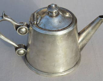 Antique teapot silver made in France