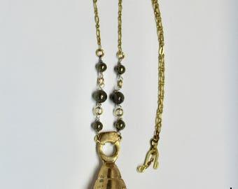 Tibetan Bell Neckalce