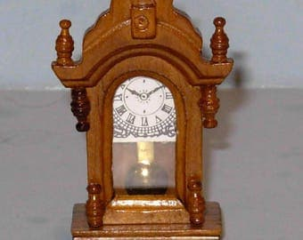 MANTLE CLOCK victorian dollhouse furniture