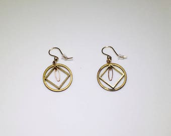 Geometric Metal Earrings