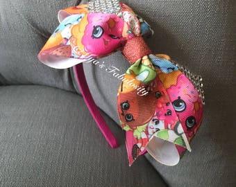 Shopkins Inspired Headband