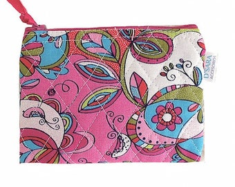 Purse organizer, small bag, coin holder, case for organizing small things,