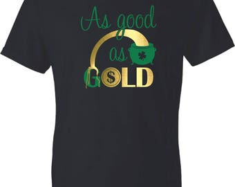 As Good As Gold St. Patrick's Day V-Neck