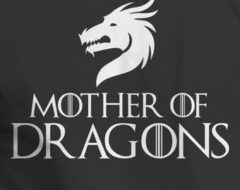 Mother of Dragons Shirt GOT Tee Dragons T-Shirt
