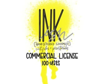 Commercial License 100 Uses