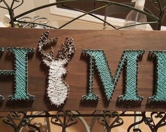 Home String Art Wall Hanging