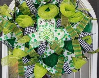 St Patrick's Day wresth