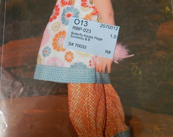Sundress and bloomers, size 1-6, uncut