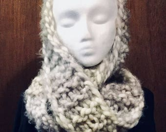 Fashion Infinity Scarves - Knitted Handmade Beautiful Coloring, Available in multiple colors.