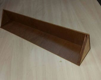 "Small 1 Step Figure Display Stand (8 Funko Pop Capacity) (24""x3.5""x3.5"")"