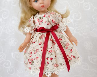 Paola Reina doll clothes.  Dress  for a doll