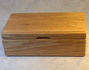 Wrist watch, Eyeglass box - Reclaimed Red Oak - MLB 198