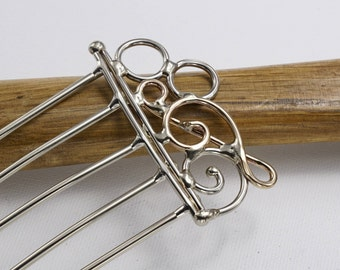 Treble Clef Note Hair Fork
