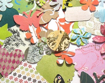 Willy Nilly - Assorted Designer Paper Die Cuts