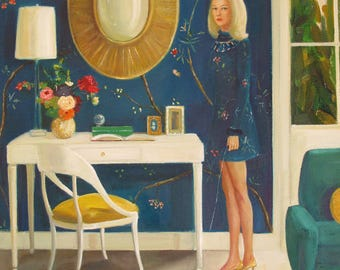 The Invisible Nature Of Tansy Fairchild.  Art Print.