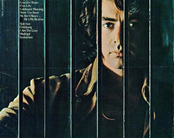 NEIL DIAMOND Tap Root Manuscript SONGBOOK | Piano Vocals Guitar Very Hard to Find 1970s Sheet Music Book