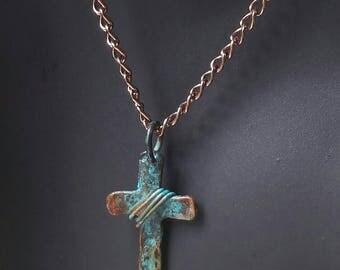 Antiqued Cross