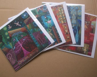 Cosmic Fine Art Greeting Cards Assorted Designs