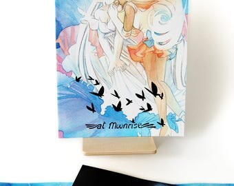 At Moonrise Sailor Moon Doujinshi