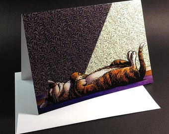 """Nap Greeting Card- 5"""" x 7"""" greeting card with envelope-blank inside"""