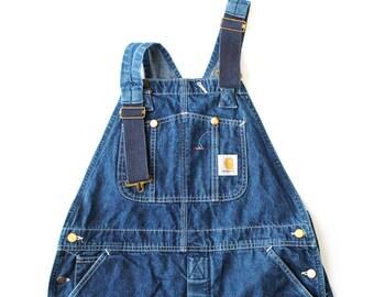 Vintage Carhartt Baggy Denim Overalls