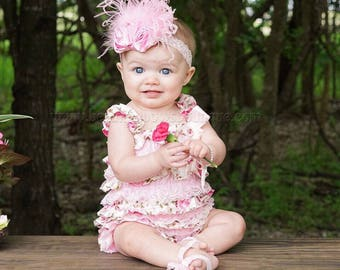 Pink Baby Headband,Infant Headband,Newborn Headband,Pink Headband,Shabby Chic Headband Pink Headband,Pink Headband for Baby Girls Toddlers