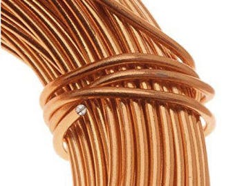 COPPER 12 Gauge Aluminum Wire Beading Wire 39 Feet 12 Gauge Copper Bead Wire Anodized Aluminum