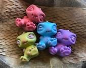 Newborn Smidgeicorn - Hand-Painted Art Toy