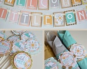 RESERVED for Kiersten - Boho Baby Shower Decorations
