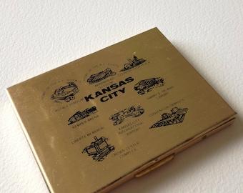 KANSAS CITY Souvenir Photo Case Compact