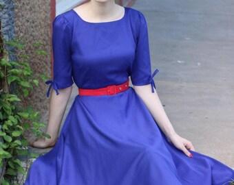 ARORA swing rockabilly 50s dress custom made