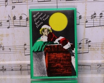 Vintage Shirley Temple Pocket Mirror - Merry Christmas - Your Friend Shirley Temple