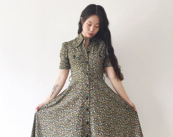 Field trip, Japanese vintage dress, xs