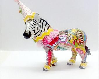 Zoey The Cake Topper Zebra