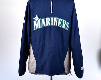 On Field Seattle Mariners Practice Sweatshirt by Majestic Authentic Collection, Size MEdium