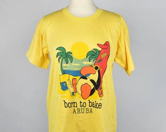 Born to Bake, Aruba Tee || Chill Surfing Bird Tee
