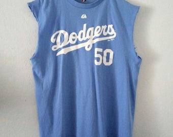 2 Sided / Dodgers Tee / The Beach Boys Tee / Muscle Tee / Baseball Shirt / Band Tee / Classic Rocker Tee / Sports / Unisex / Women / Men