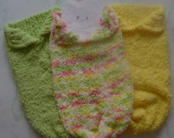Baby Snuggle Sack, Cocoon, Papoose. Ready to Ship