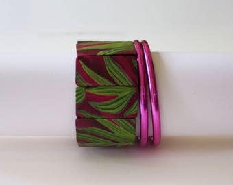 Purple and Magenta Bracelets